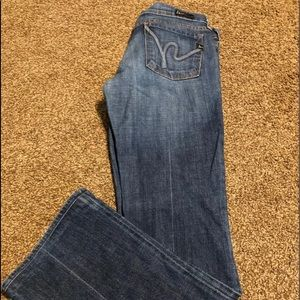 Citizens of humanity boot cut jeans size 29